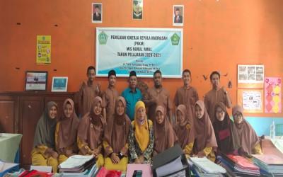 Sesi Poto Bersama TIM Penilain Kinerja Kepala Madrasah